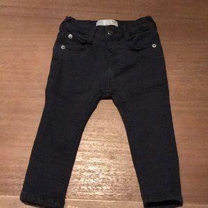 Boys Navy Skinny jeans - Size 9/12 month